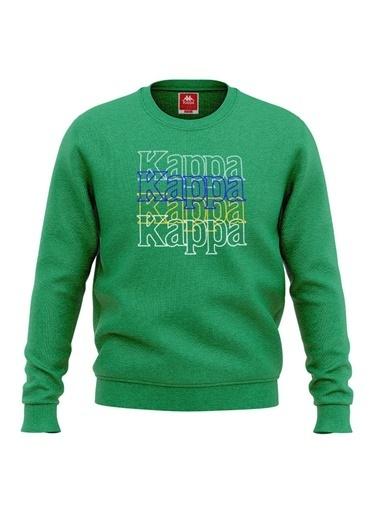 Kappa Çocuk Sw-Shirt Zaralon Yeşil